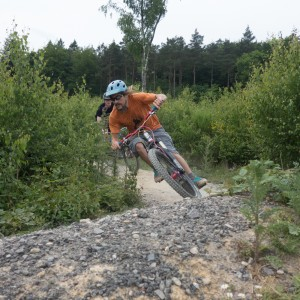 Singletrack trails at Bedgebury Forest