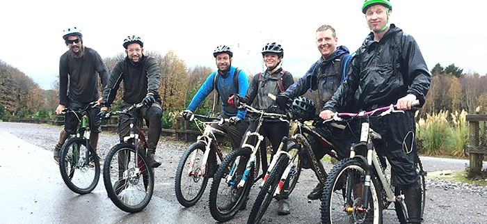 Weekly mountain biking with Bedgebury Cycle Club
